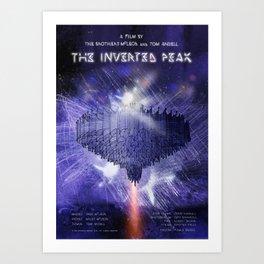The Inverted Peak Art Print
