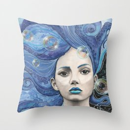 Galaxsea Throw Pillow