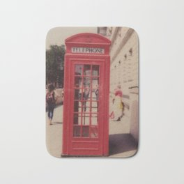 London Telephone Booth Bath Mat