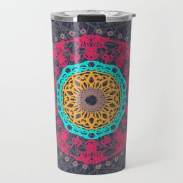 Bohemian Tangle Mandala | Zendala Travel Mug