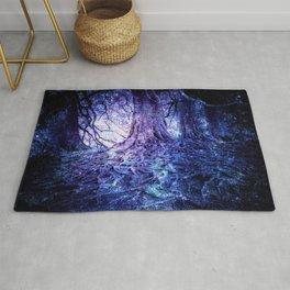 The Wishing Tree : Purple Blue Rug