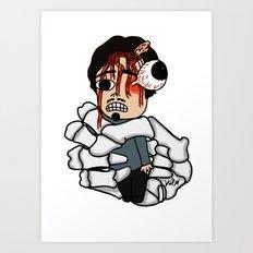 Glenn Rhee Art Print