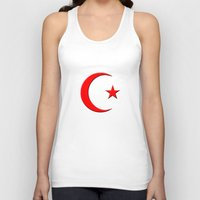 islam Tank Tops featuring Islam symbol by gbcimages