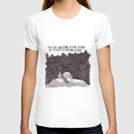 Van Gogh and a penguin #1  T-shirt