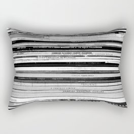 Rainy Wednesday Rectangular Pillow