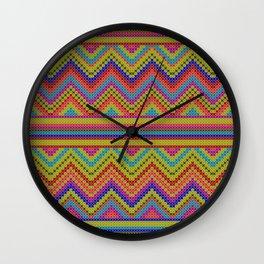 ziggy-zag x-dust Wall Clock