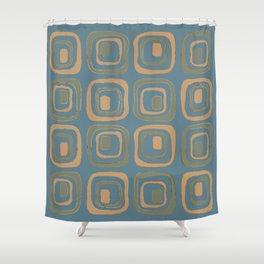 Blueprint Pattern N5 Shower Curtain