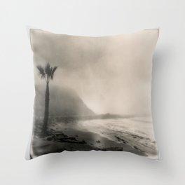 Royal Palms Beach California Throw Pillow