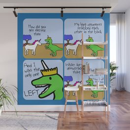 Elected (Horned Warrior Friends) Wall Mural