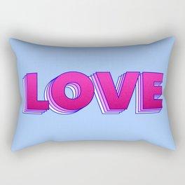 LOVE is a magic word Rectangular Pillow
