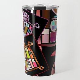 Set of cosmetics and perfumes . Travel Mug