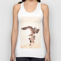 falcon Tank Tops featuring Falcon by Anton Watts