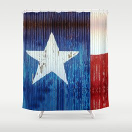 I love Texas Shower Curtain