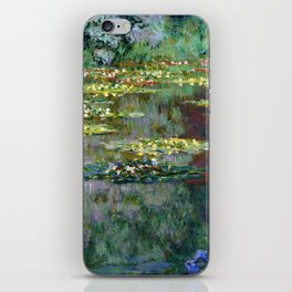Claude Monet Pond of Water Lilies iPhone Skin