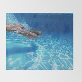 Sea pleasure Throw Blanket