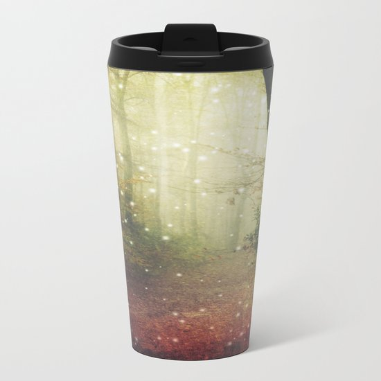 Forest of Miracles and Wonder Metal Travel Mug