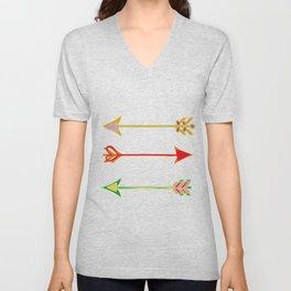 Arrow minded Unisex V-Neck