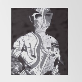 """Timeless Emptiness"" By Nacho Dung. Throw Blanket"