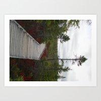 Nature walk II Art Print