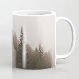Elevation Drop - Foggy Forest PNW Coffee Mug