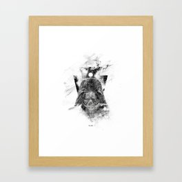 Start War Framed Art Print