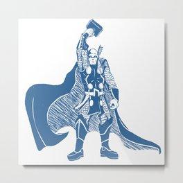 Thor Metal Print