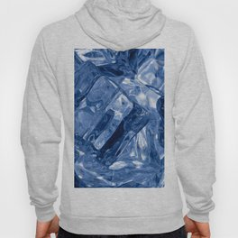 Ice cubes background Hoody