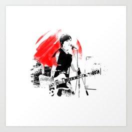 Japanese Artist Art Print