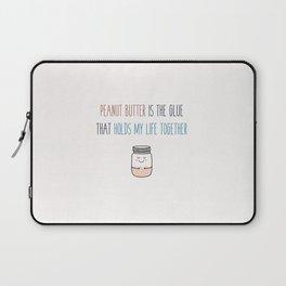 Peanut butter vegan Laptop Sleeve