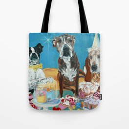 The Last Dessert Dog Portrait Tote Bag