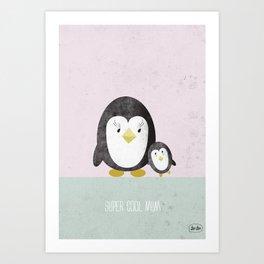 Super Cool Mom Art Print