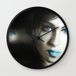 'Amy 'n' Blues' Wall Clock