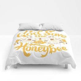 God Save the Honeybee Comforters