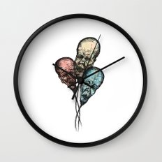 3 Wise Balloons Wall Clock