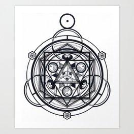 Compression * Art Print