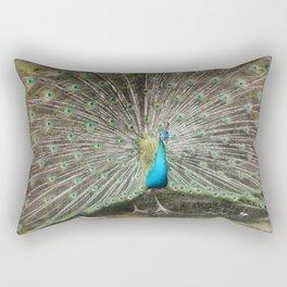.: peacock :. Rectangular Pillow