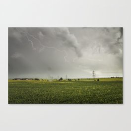Lighting Strike Canvas Print