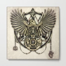 Clockwork Metal Print