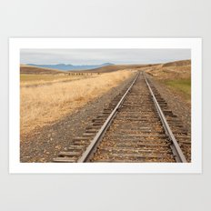 Iron Trail Art Print