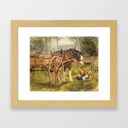 A Little Bit Country Framed Art Print
