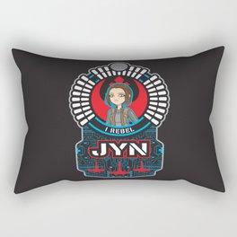 Jyn the rebel Rectangular Pillow