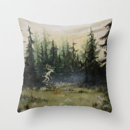 Selcouth Throw Pillow