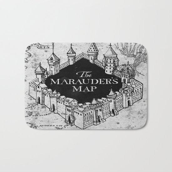 Marauders Map Bath Mat
