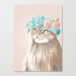 Oh meow goodness! Canvas Print