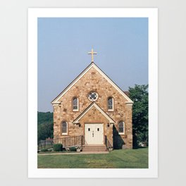 Eagleville Church Art Print