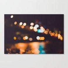 portland lights Canvas Print