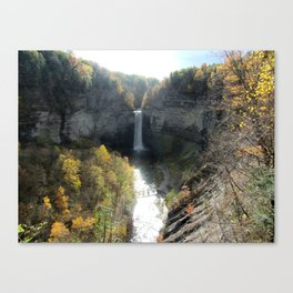 Taughannock Falls Upstate New York Canvas Print