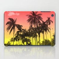tropical iPad Cases featuring palm tree  by mark ashkenazi