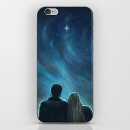 The Morning Star iPhone Skin