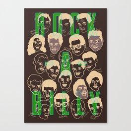Rock-a-billy Canvas Print
